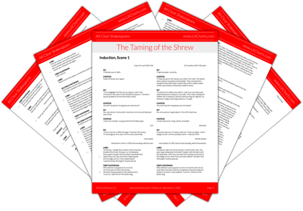 The LitCharts Shakespeare translation of The Taming of the Shrew